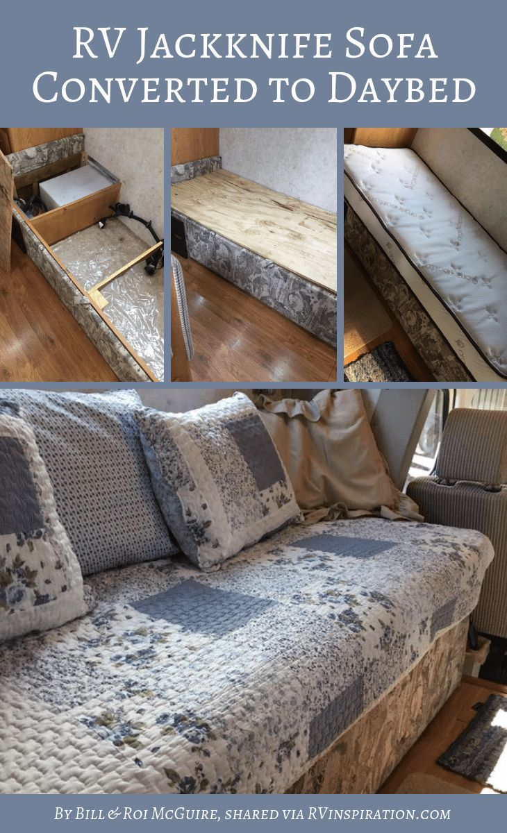 RV Sofa Bed Replacement Ideas (w/ Pictures) Rv sofa bed