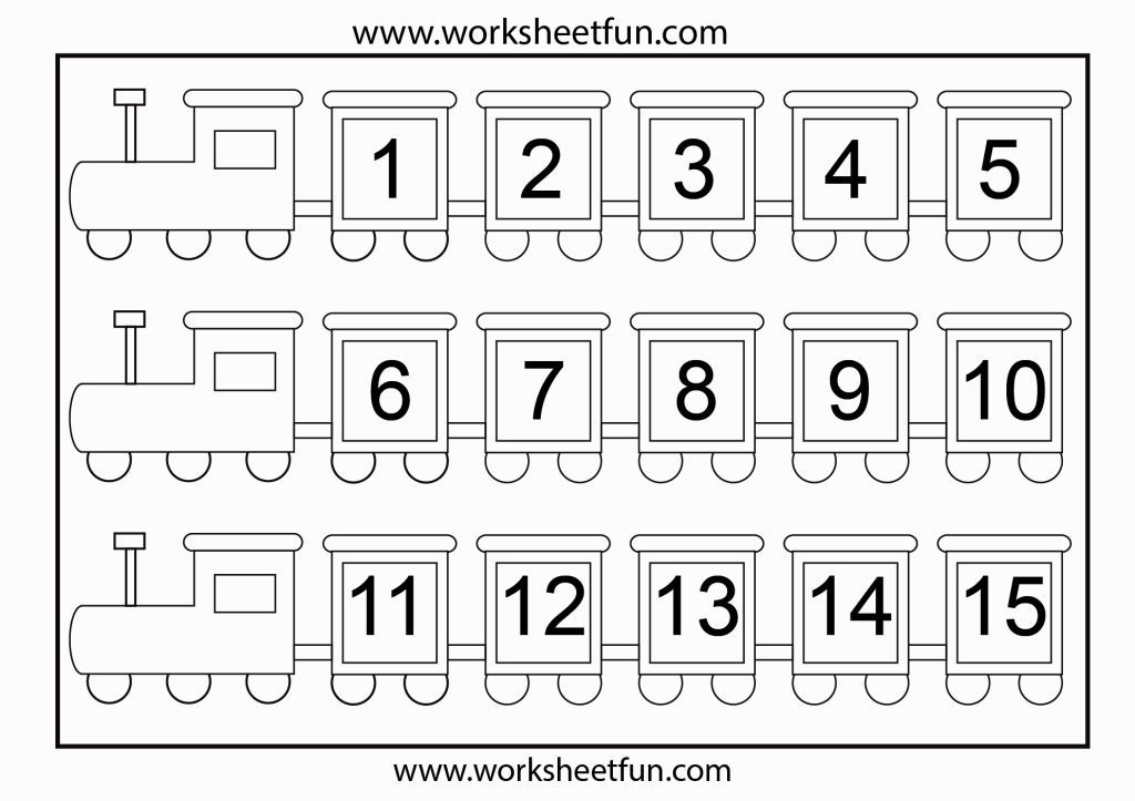 Number Coloring Pages 1 20 Matematika