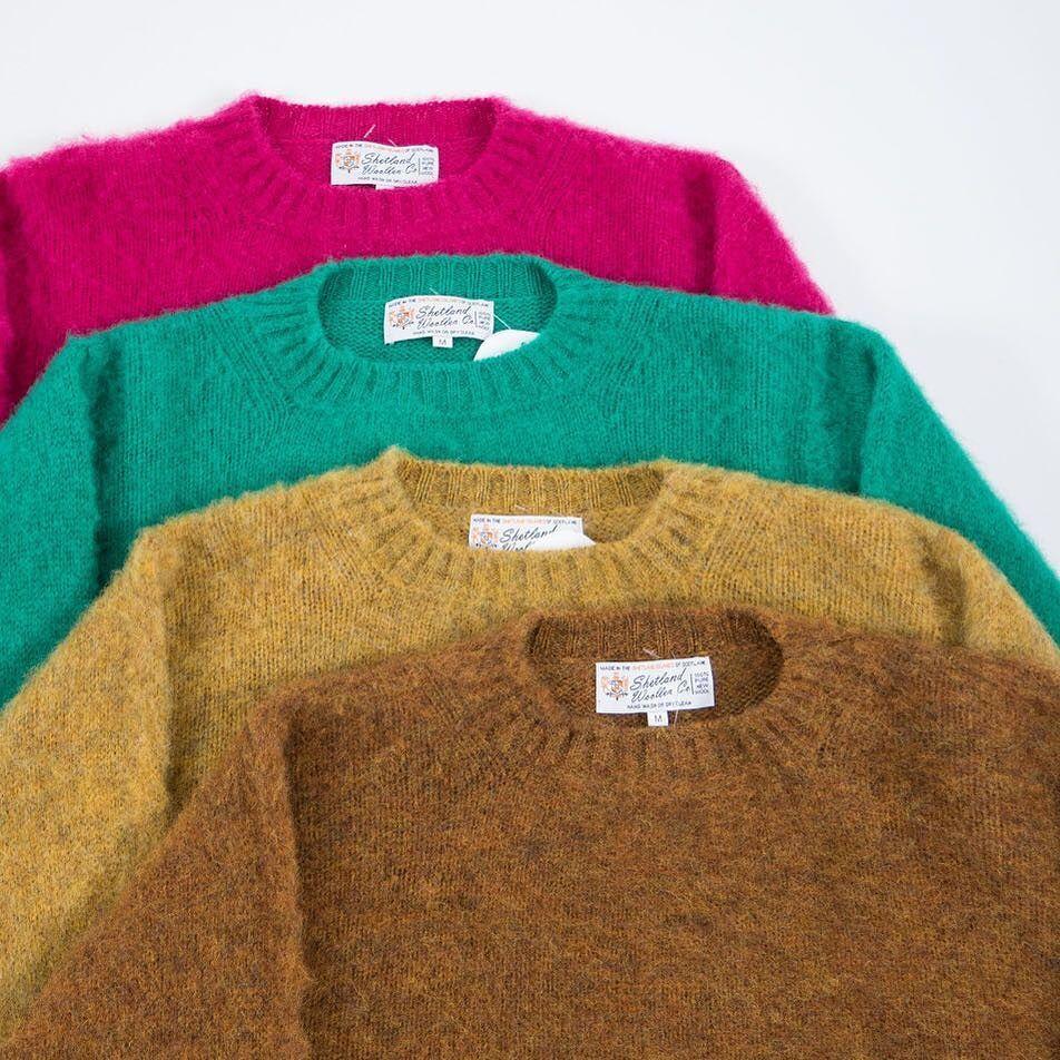 Autumn Knitwear   Shetland Woollen Co #autumn #knitwear