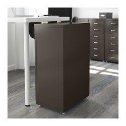 helmer schubladenelement auf rollen gr n ikea. Black Bedroom Furniture Sets. Home Design Ideas