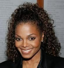 Janet Jackson Curly Hair Care Short Hairstyles