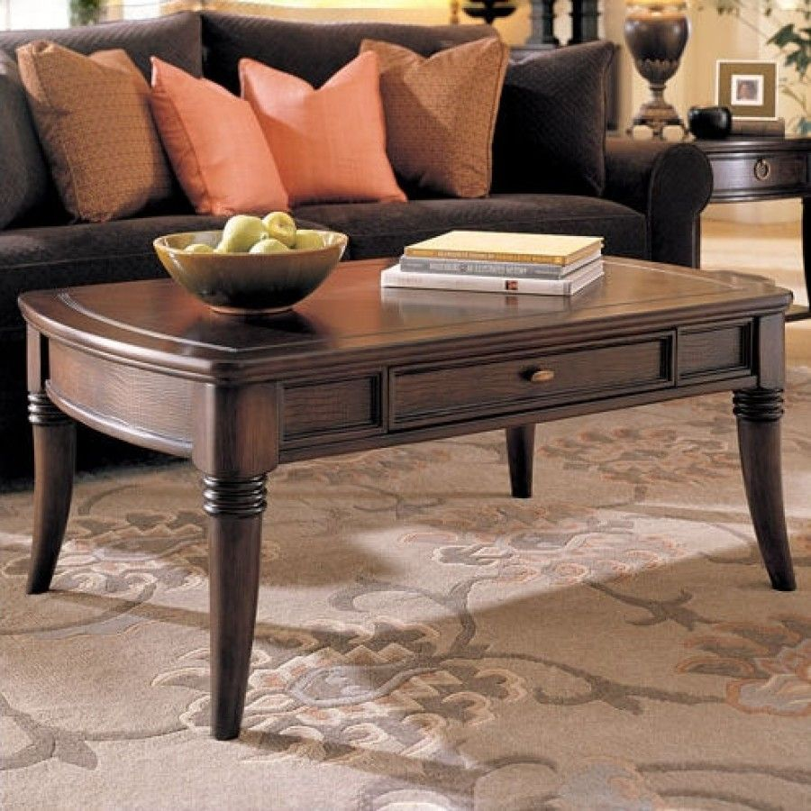 Hammary Magellan Rectangular Drawer Cocktail Table In Rich Chocolate Finish T83200 00 Accent Table Decor Hammary Furniture Furniture [ 900 x 900 Pixel ]