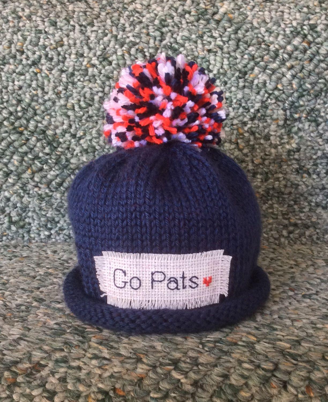 8546fb601 Baby PATRIOTS hat, baby sport hat, football, football hat, New England  Patriots, Preemie/18 Months by KarenFudge on Etsy