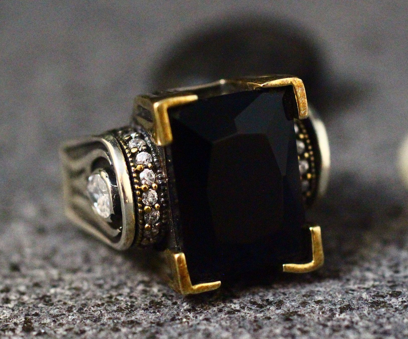 49++ Onyx wedding bands for him info