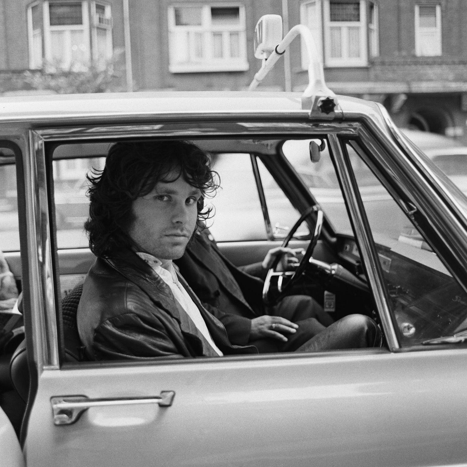 Jim Morrison in Amsterdam, 1968 © Nico van der Stam