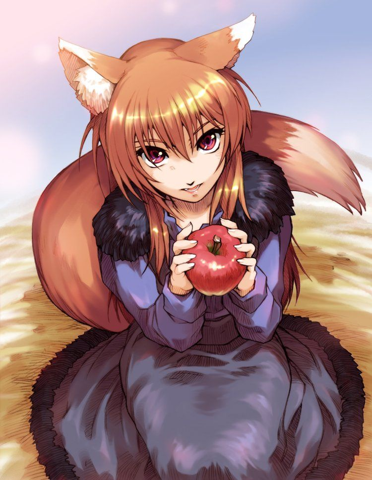 Cu Nyjixyaegc8d Jpg Large 750 968 Cat Girl Spice And Wolf Anime Neko