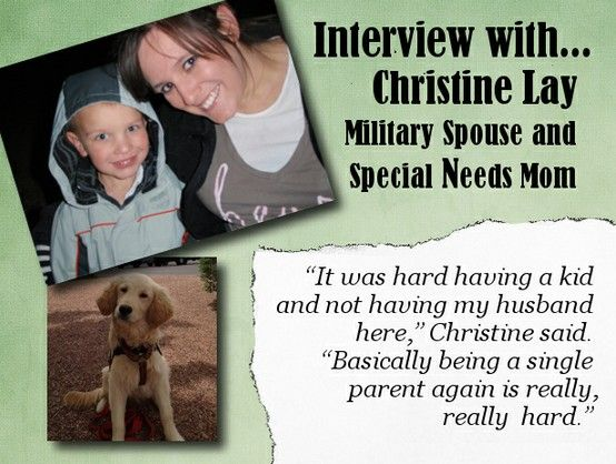 Christine talks about what her first deployment was like now that her husband is home!