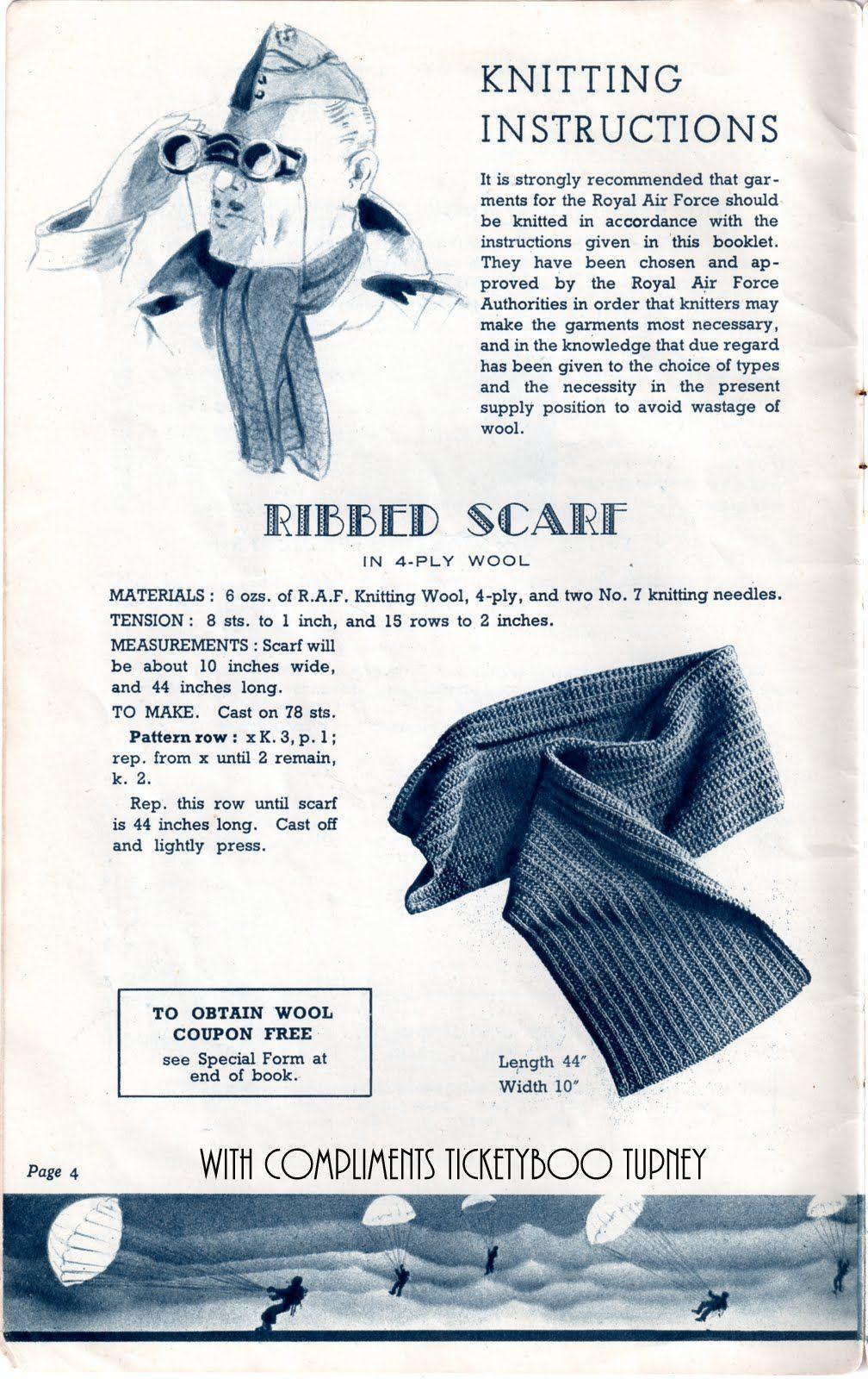 Knitting For The Raf Knitting Crochet Etc Vintage Knitting
