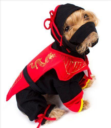 Dragon Ninja Dog Costume Size 3 10 75 X 14 16 G You
