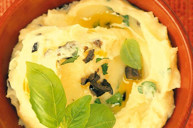 Photo of Mashed potatoes with olives – Mashed potatoes with olives