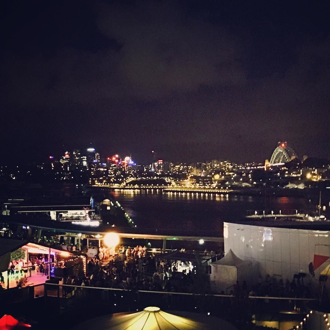 I use to the casino to party at Cave. Now I'm hanging out in hotel rooms watching people drink while I hang out with the kids. #skyterrace #TheStar #SydneyHarbourBridge #Sydney #NightSky #IveChanged by deelightfuldee http://ift.tt/1NRMbNv