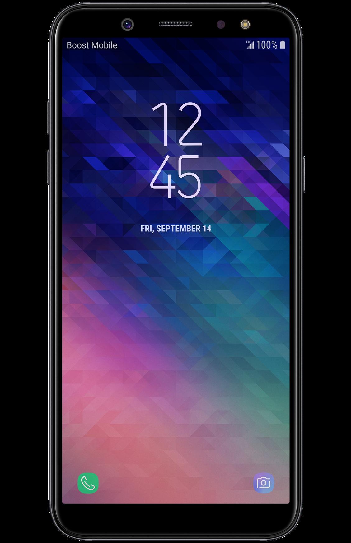 Samsung Galaxy A6 32gb Black Boost Mobile Boost Mobile Prepaid Phones Samsung