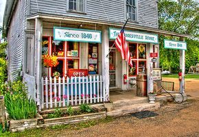 Reminds me of the little country store in Mt Edna IA, when I was a little girl.