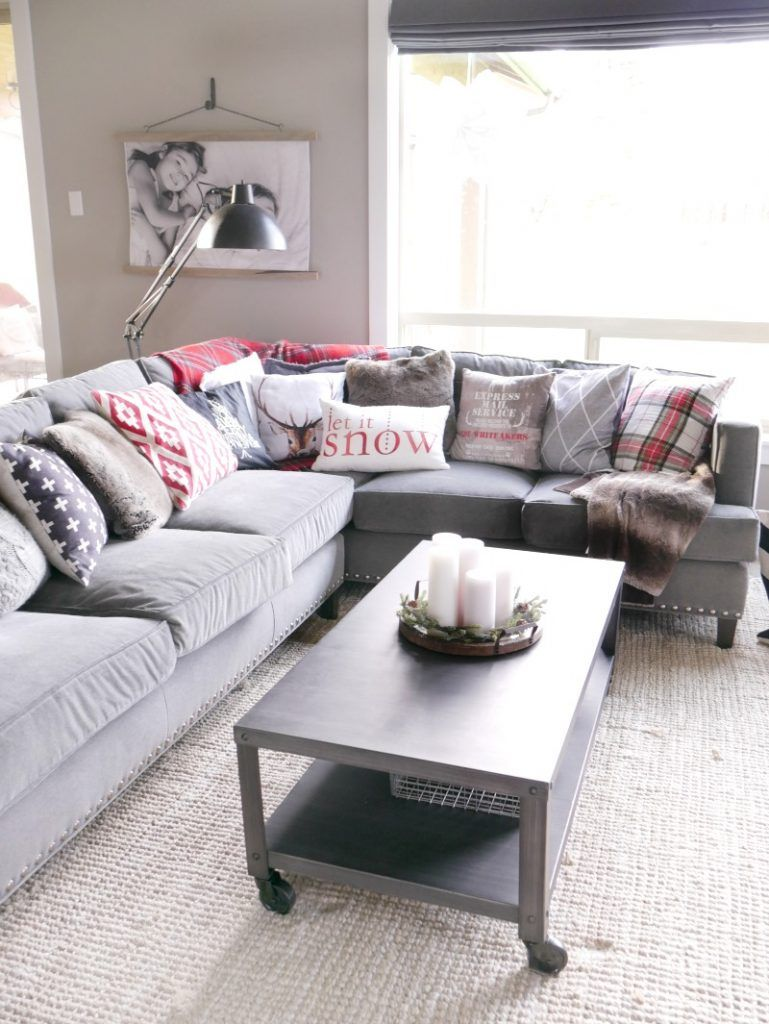 Christmas Living Room Decorations | Christmas living rooms ...