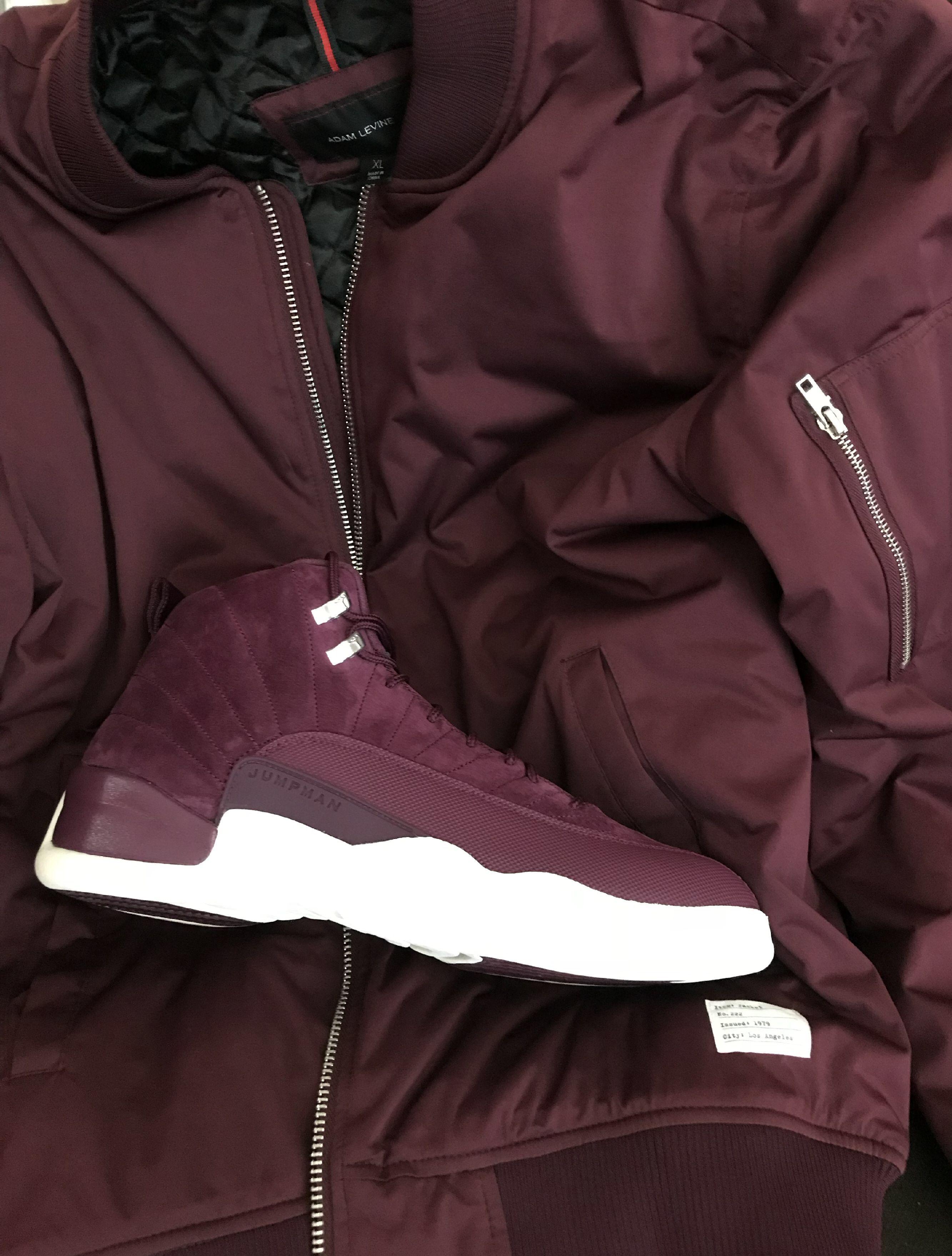 Jordan Retro 12 - Bordeaux.  kotd  fashion  picoftheday  jordan  retro   burgundy  silver f5a06fcc24b6