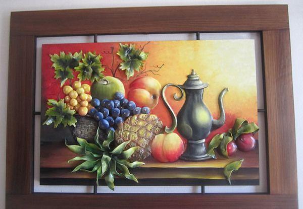 Cuadro de frutas 80 x 60 542265 nuestromercado for Cuadros en country para comedor