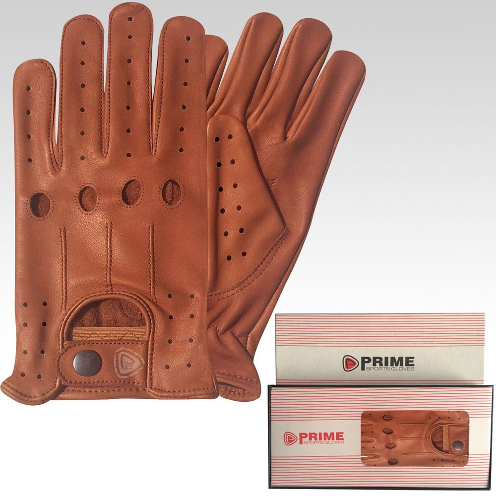 Quality leather driving gloves - Brand New Top Quality Real Soft Leather Mens Driving Gloves Black Brown Tan 507