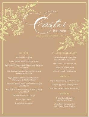 Images of What To Cook For Easter Dinner - The Miracle of Easter