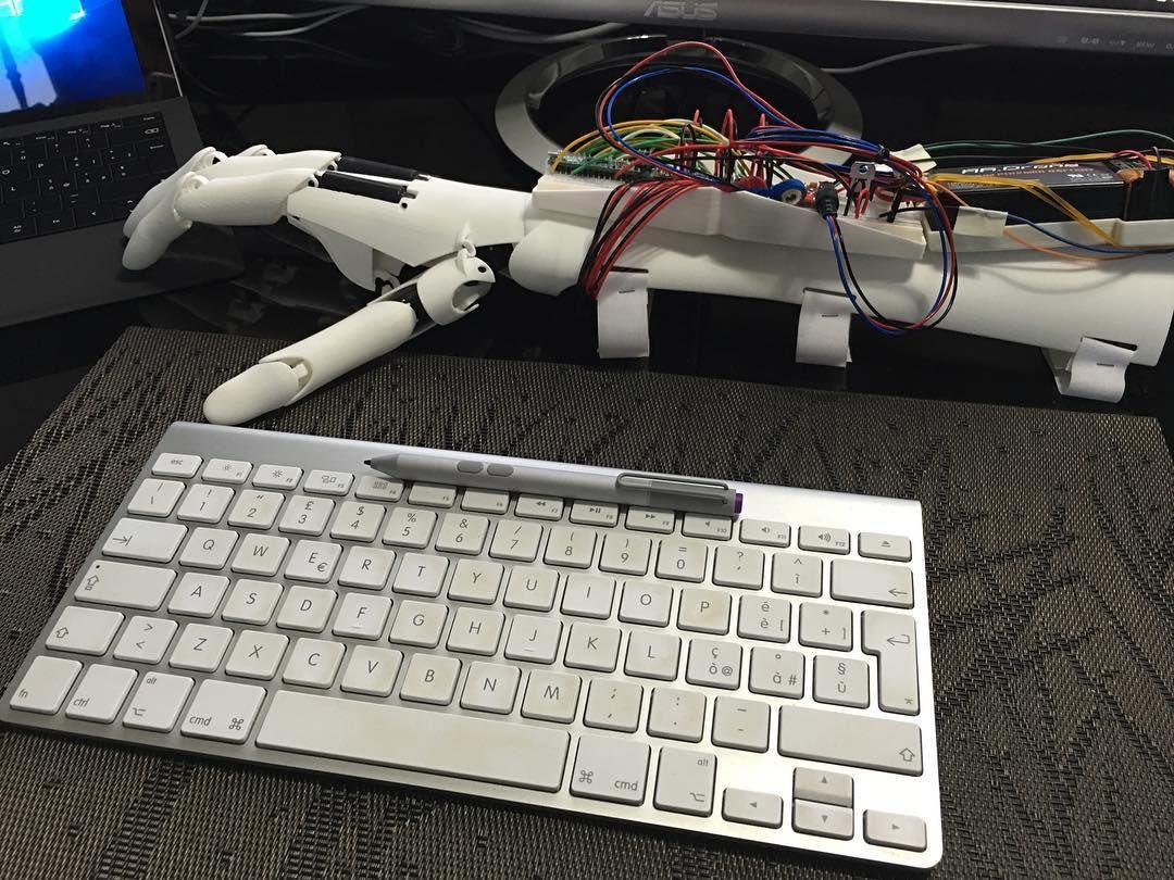 Back To Code 3dprinting Arduino Prosthetics Robot