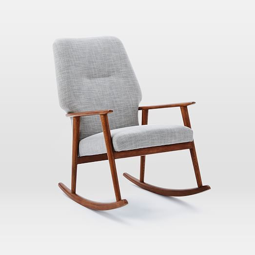 High Back Rocking Chair West Elm Rocking Chair High