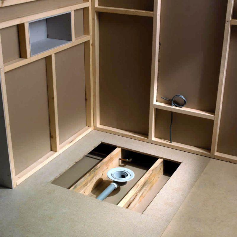 Kudos Aqua4ma Wetroom Shower Base For Tiling 900 x 900mm - KUDO314 ...