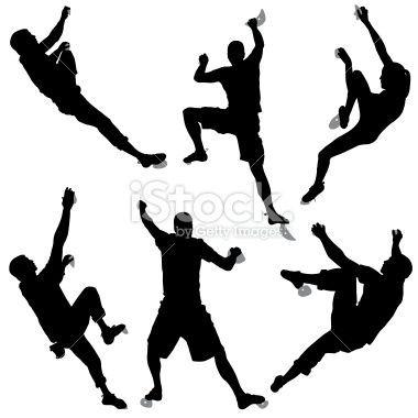 indoor rock climbing clip art climbing silhouette szukaj w rh pinterest co uk