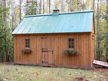Garden Sheds traditional sheds