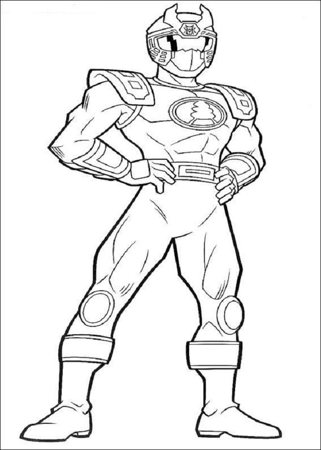 Beetle Power Ranger coloring page for boys #ninja | Color me fun ...
