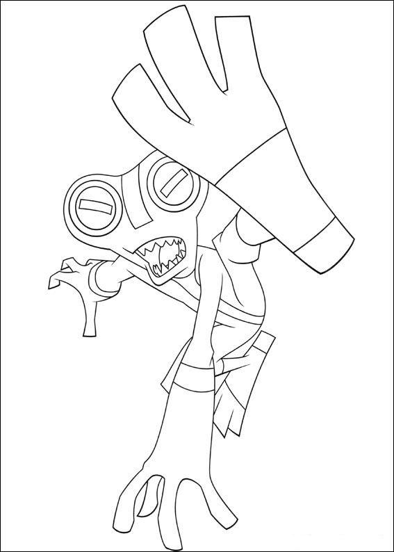 Ben 10 Ausmalbilder. Malvorlagen Zeichnung druckbare nº 9 | Kiga ...