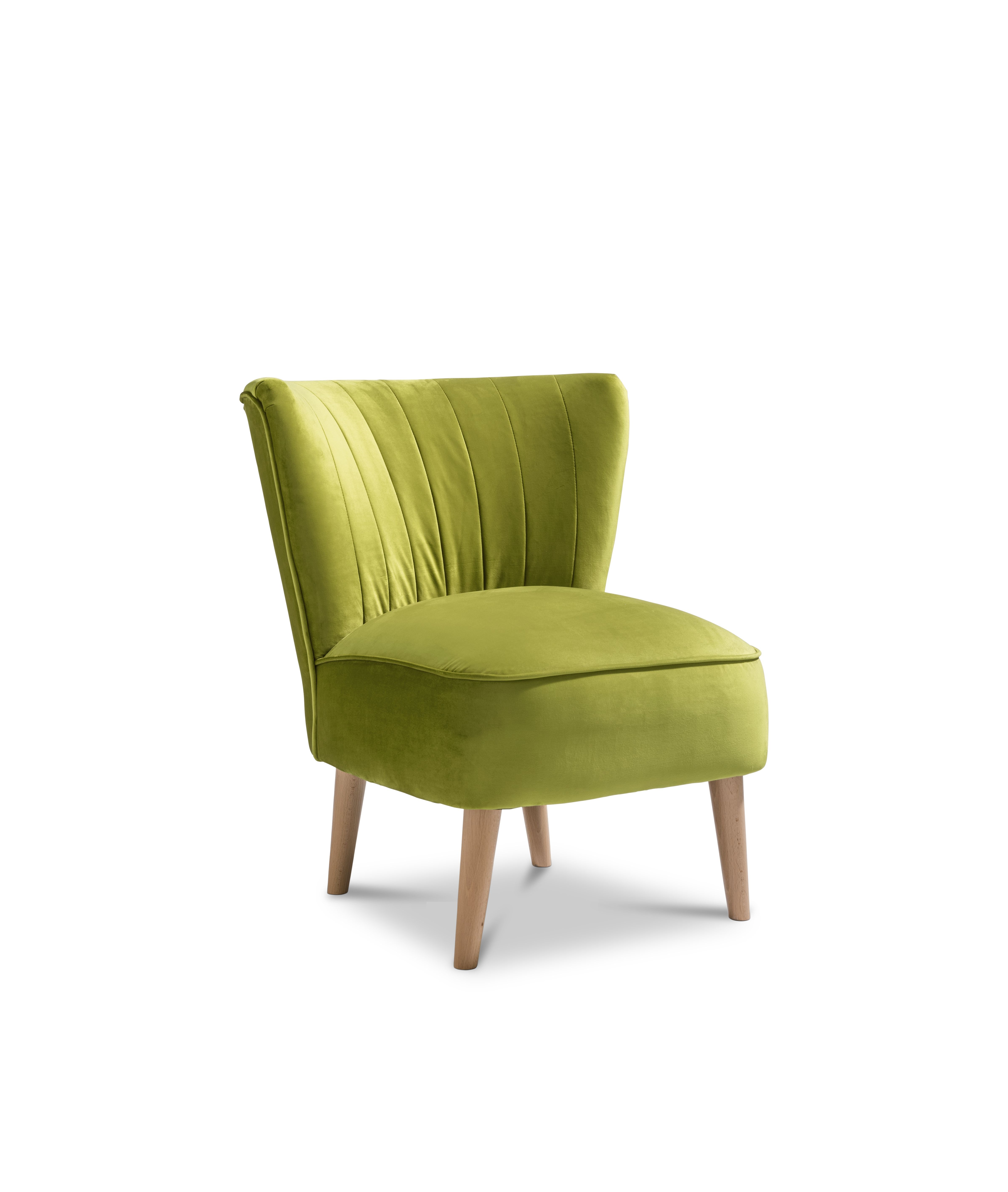 The Malmesbury Plush Accent Chair Is The Perfect Velvety Touch For
