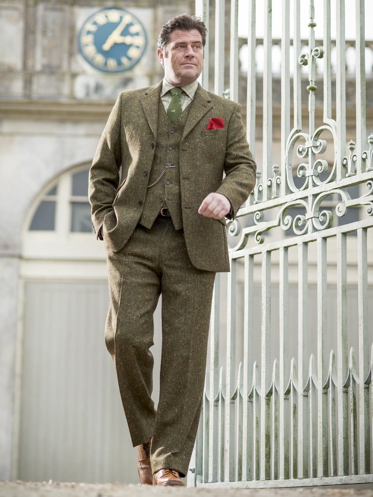 Donegal Tweed Jacket - Tweed Jackets - Jackets - Peter Christian ...