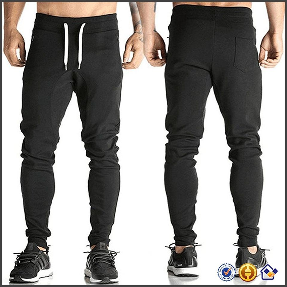 5247b4473 KY wholesale Mens Dri-fit Jogger Pants Gym Sweatpants Workout Training  Tracksuit