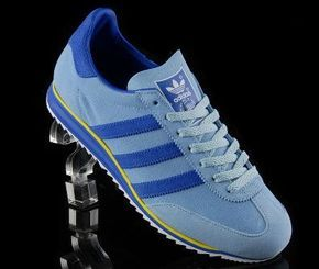 Adidas Originals Trainers Blue And Yellow website