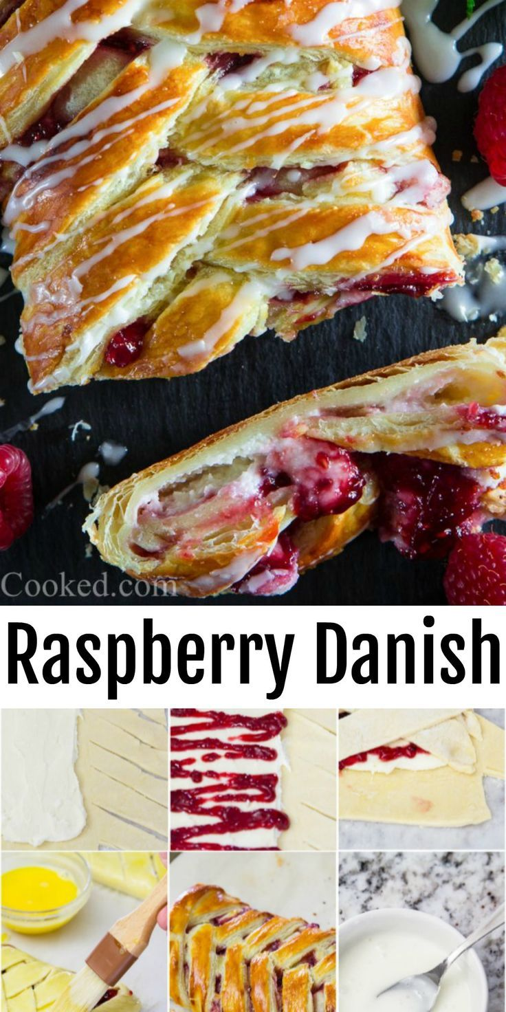 Photo of Easy Raspberry Cheese Danish Recipe