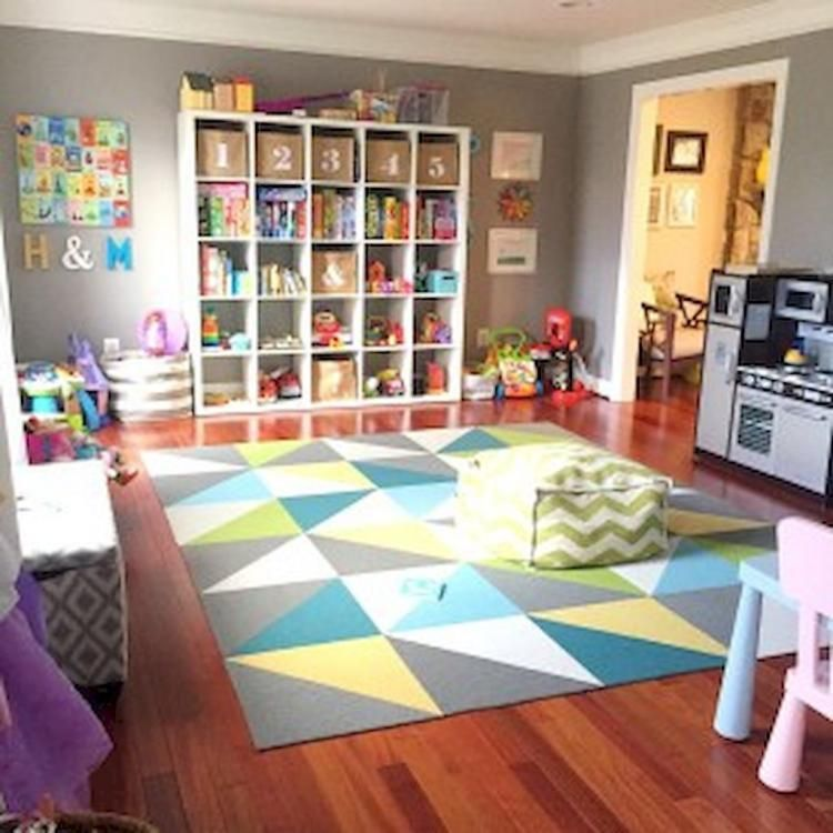 70 Living Room Decorating Ideas For Every Taste: 48 Fun Kids Playroom Ideas & Design Tips For Every Taste