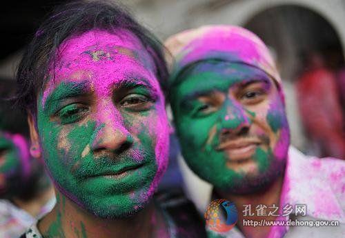 festival da cor -índia