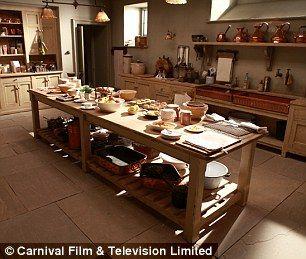 Lifestyle Upstyle Downstairs  Kitchen Sets Downton Abbey And Cozy Unique Downton Abbey Kitchen Design Design Inspiration