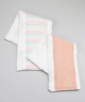 Boutique quality burp cloths