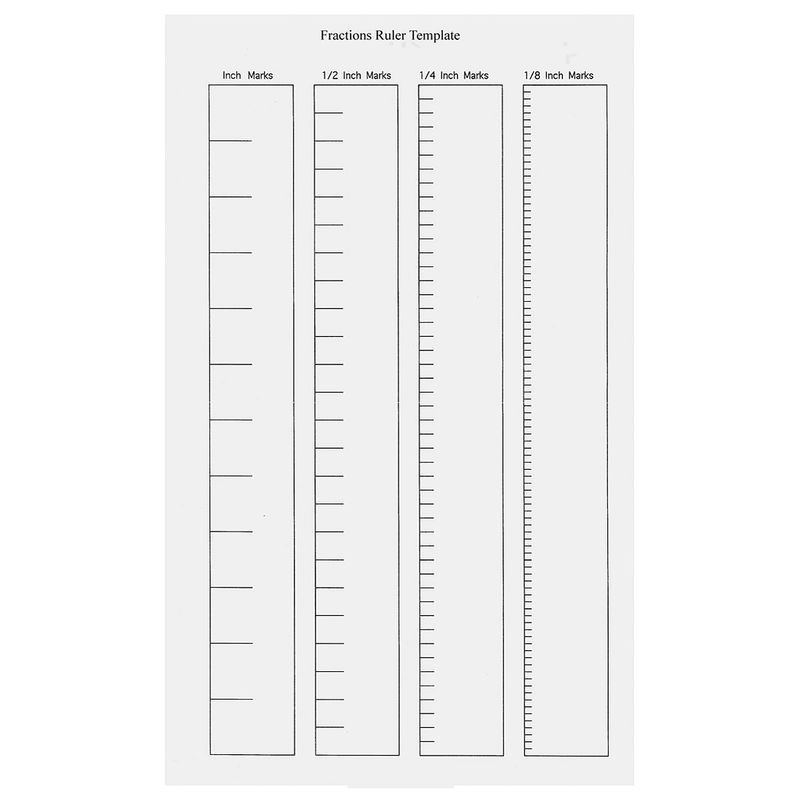 Blank Ruler Template Page 001 Printable Coloring Pages For Kids Printable Ruler Coloring Pages For Kids Printable Coloring Pages