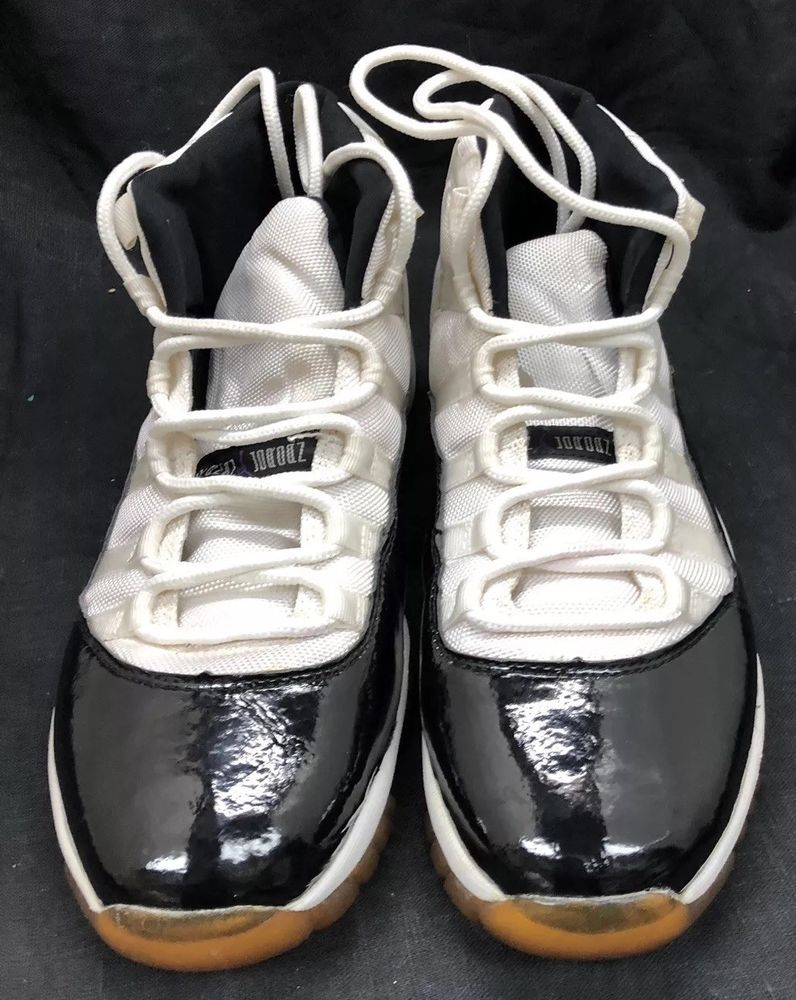 new arrival ba438 fe33f 2000 Air Jordan XI 11 Retro Sz 12 White Black Dark Concord 136046 101   fashion  clothing  shoes  accessories  mensshoes  athleticshoes (ebay link)