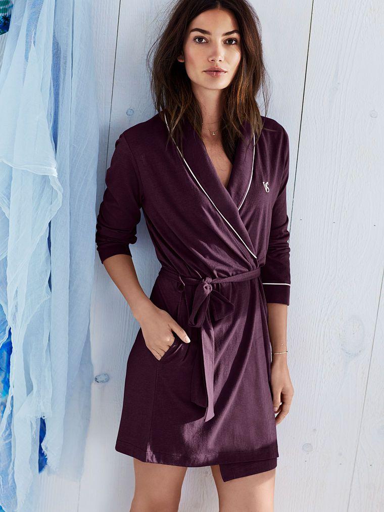Sleepover Cotton Knit Robe - Victoria s Secret  d252fff32