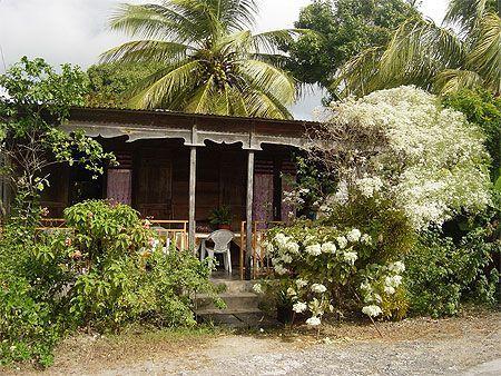 Maison fleurie - Guadeloupe