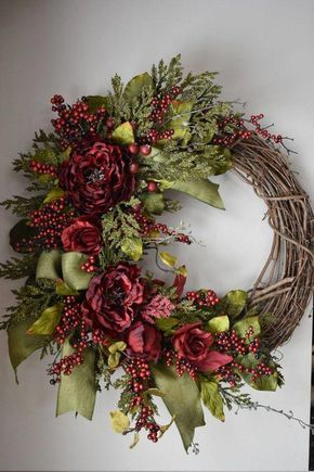 12 holiday Wreaths spring ideas