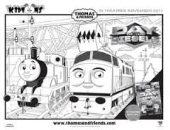 Thomas And Friends Coloring Pages Diesel Google Search Arts And Crafts For Kids Thomas And Friends Craft Projects For Kids