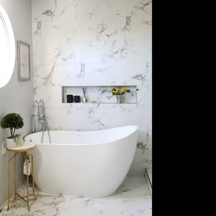 54 x 29 Freestanding Soaking Bathtub