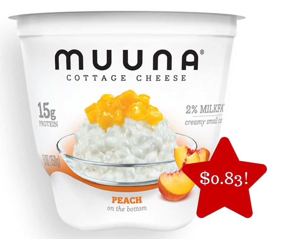 Tops Muuna Fruit On The Bottom Cottage Cheese Only 0 83 Cottage Cheese Post Workout Snacks Snacks