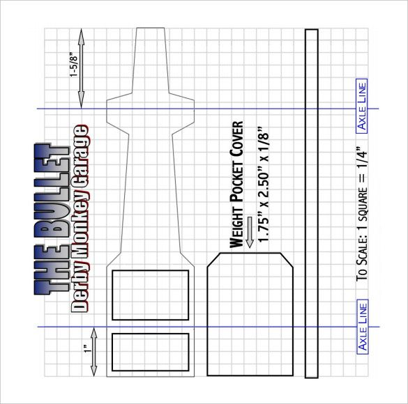 21+ Cool Pinewood Derby Templates u2013 Free Sample, Example Format - pinewood derby template