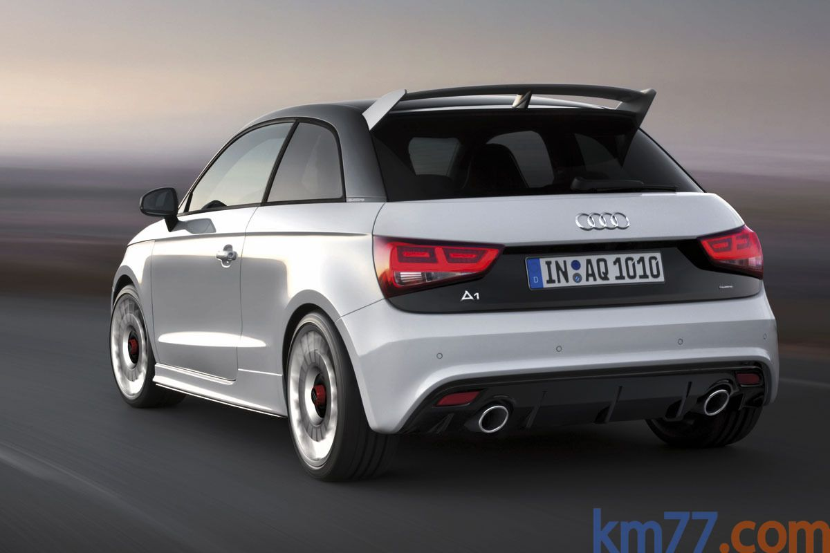 Audi a1 2 0 tfsi quattro