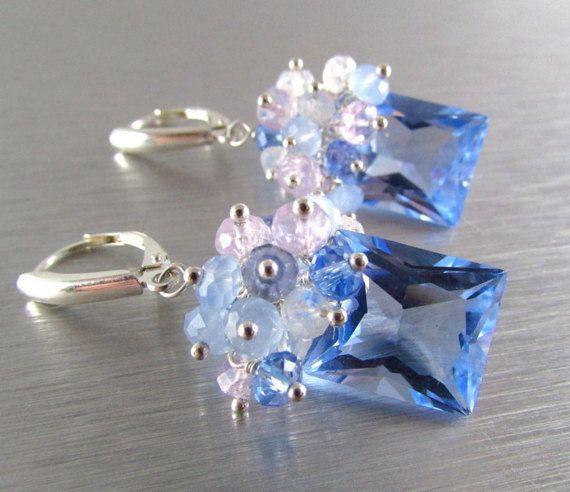 25% Off Blue Quartz Lavender Opal Blue Chalcedony by SurfAndSand