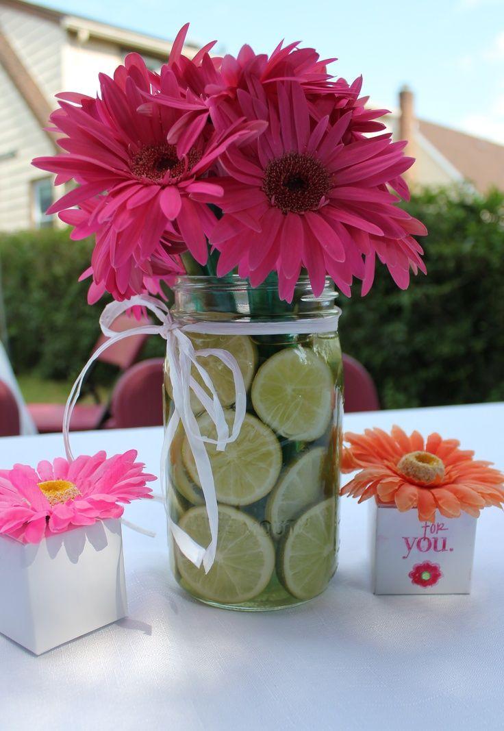 Daisy arrangement ideas gerber centerpiece